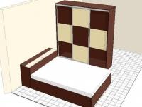 Спалня и гардероб с плъзгащи врати