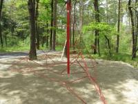 Изграждане на въжени детски пирамиди
