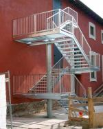външни противопожарни стълби 14363-3172