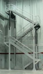 метална противопожарна стълба 14371-3172