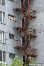 метални противопожарни стълби 14473-3172