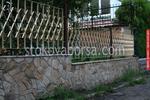 огради метални ниски