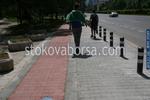 изграждане на велоалеи чрез полагане на плочки от бетон