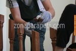 монтиране на дървени парапети за стълбище