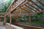 производство на навес от поликарбонат и дърво