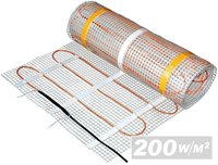 Професионално подово отопление 200W/m2 - 0.5mx12m