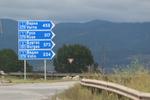 изработка на пътни знаци за указване на направления, посоки, обекти и други за опасност