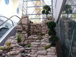 dekorative Wasserfälle und Kaskaden