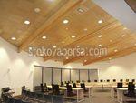 Индивидуален проект за окачен таван от дърво