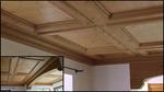 Окачен дървен таван по поръчка